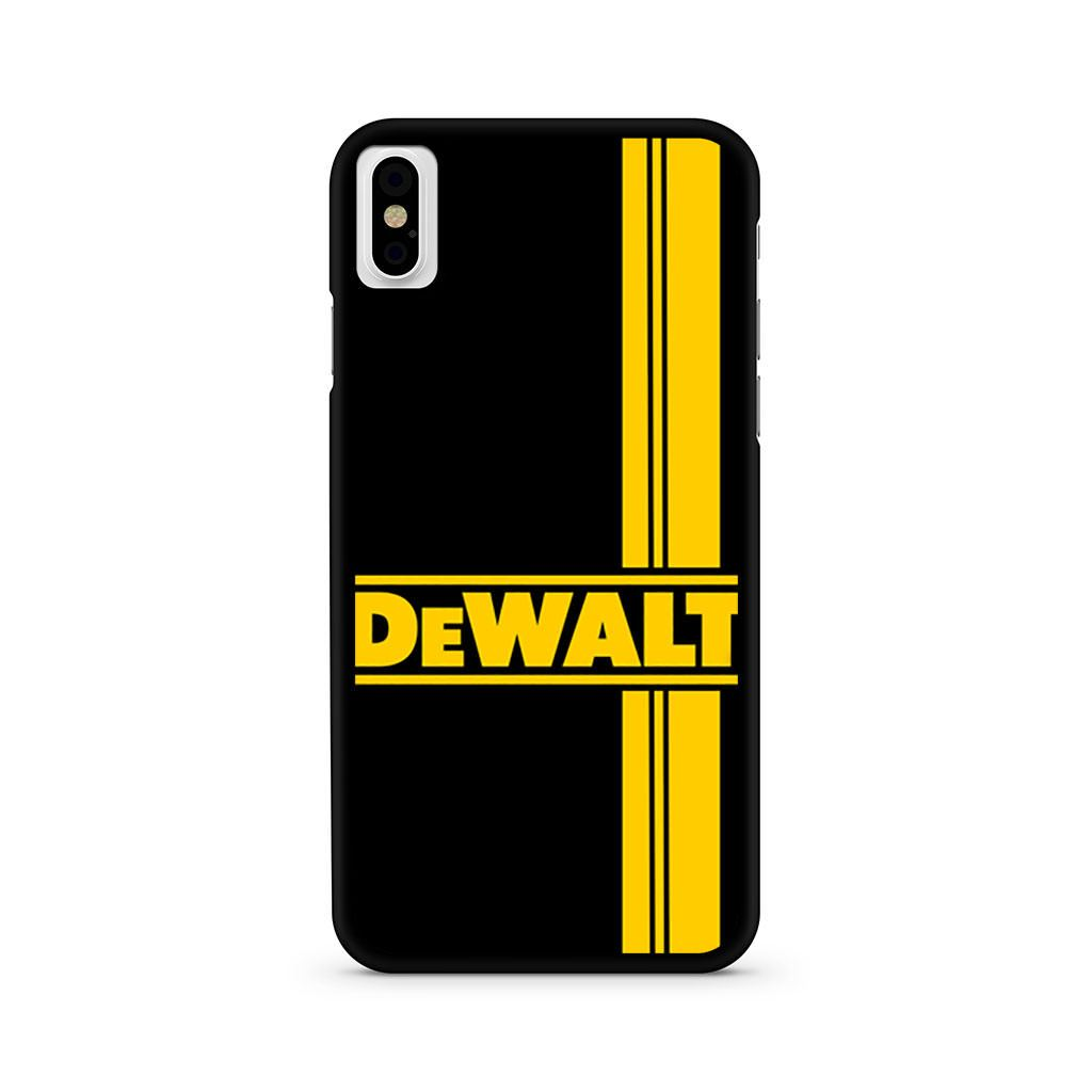 Dewalt Logo iPhone X case