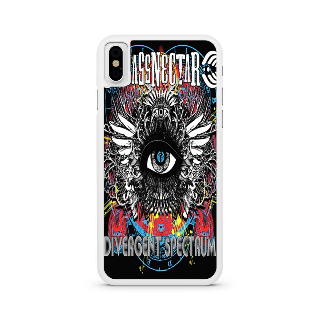 Bassnectar Divergent Spectrum iPhone X case