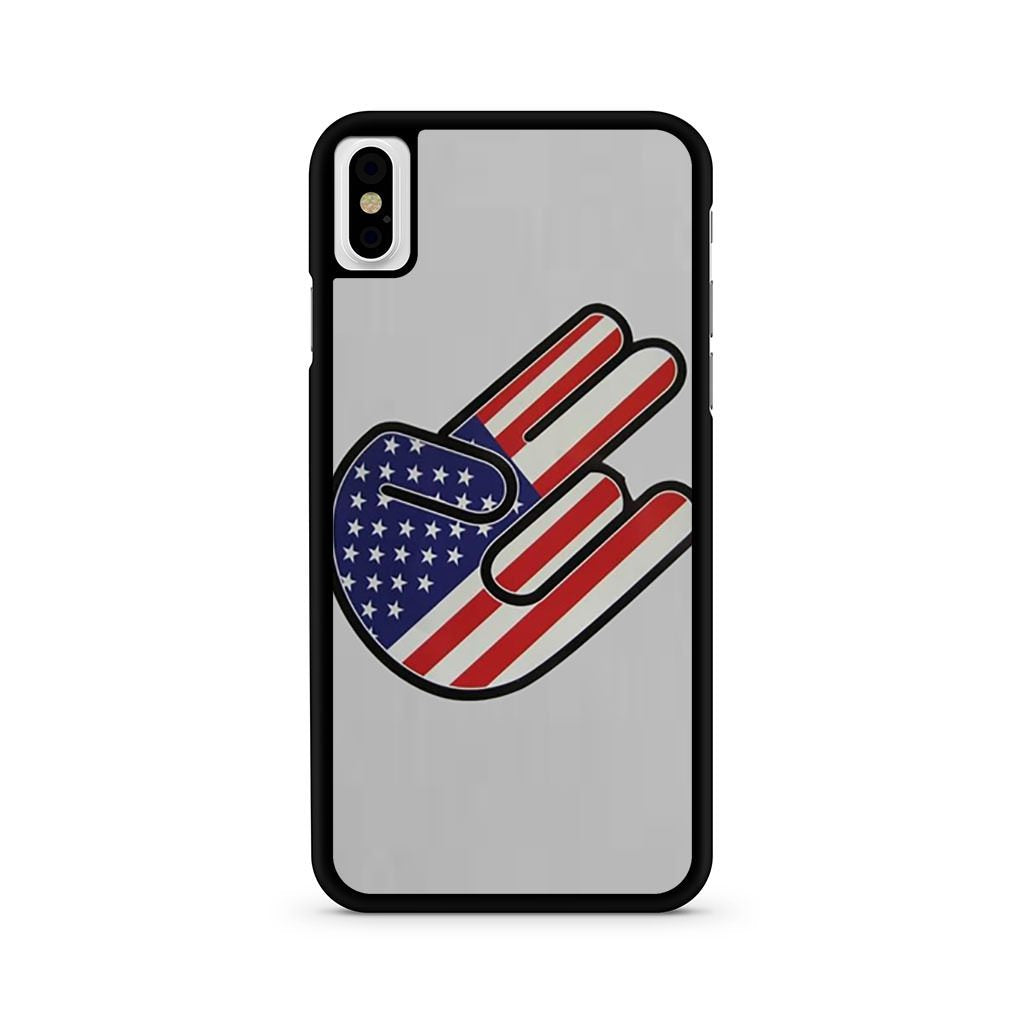 American Shocker USA Flag iPhone X case