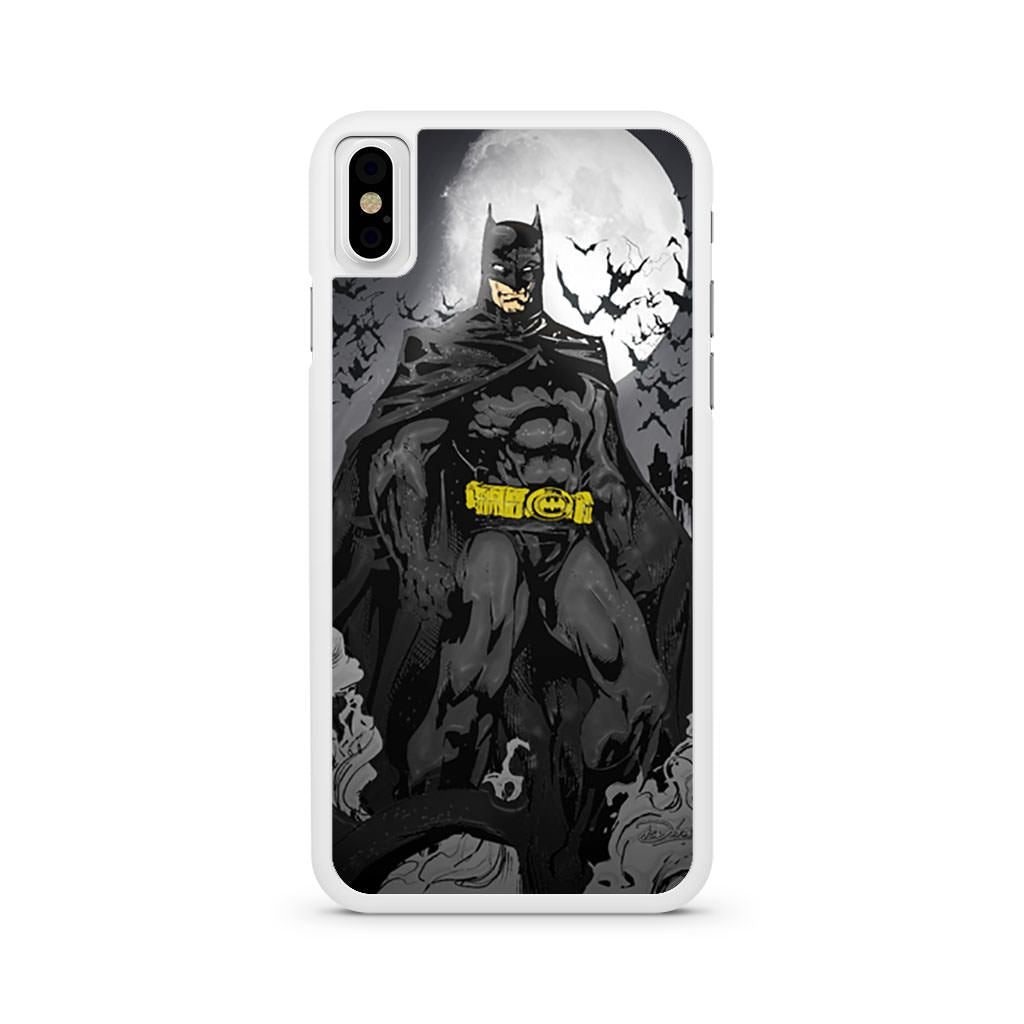 Batman Artwork iPhone X case