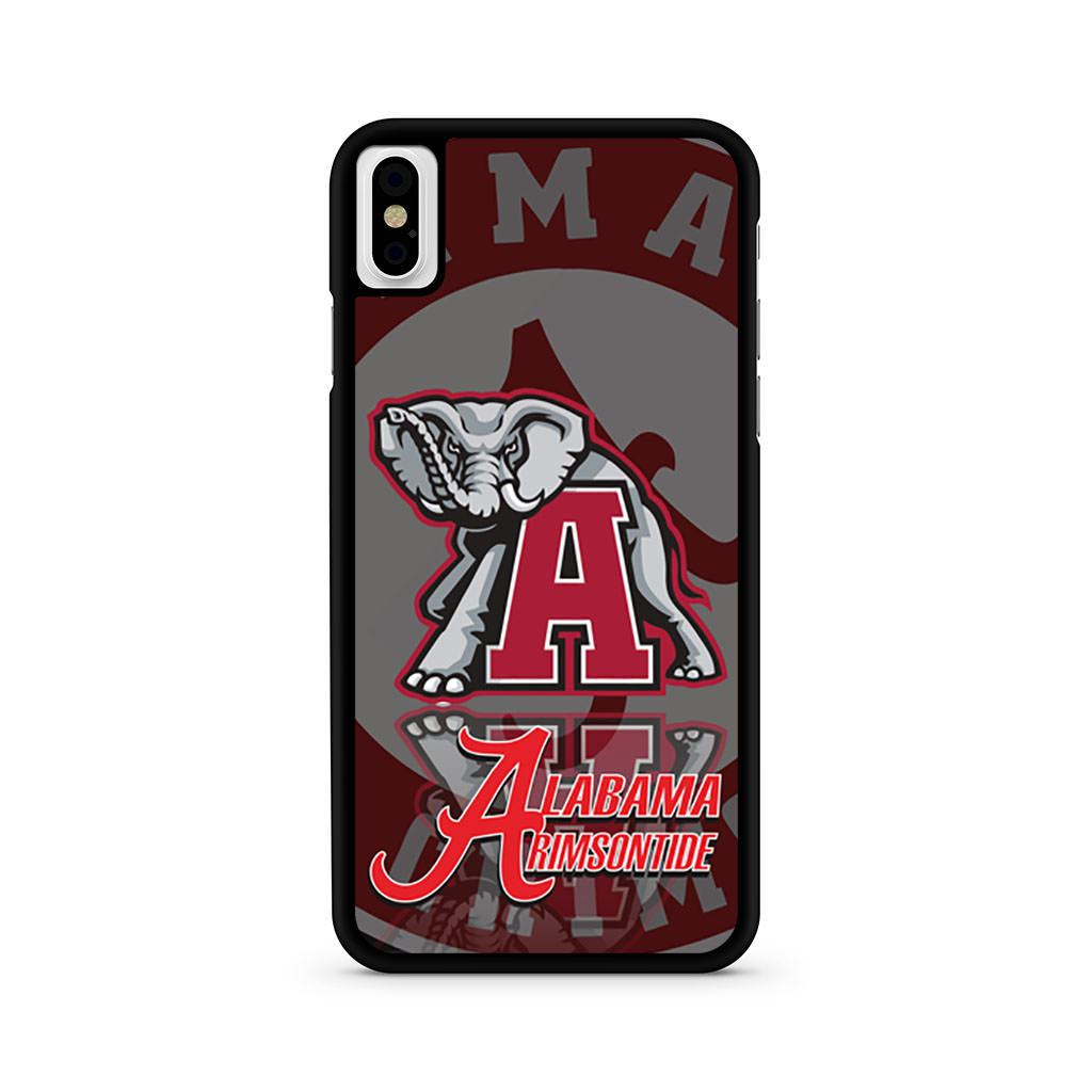Alabama Crimson Tide iPhone X case