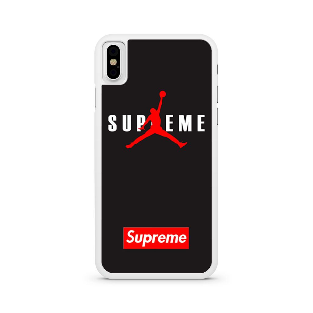 Air Jordan X Supreme iPhone X case