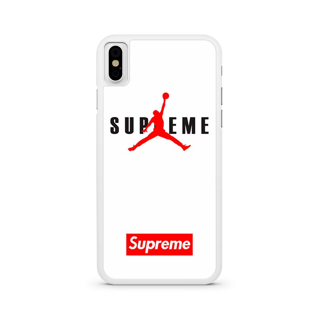 Air Jordan Supreme White iPhone X case