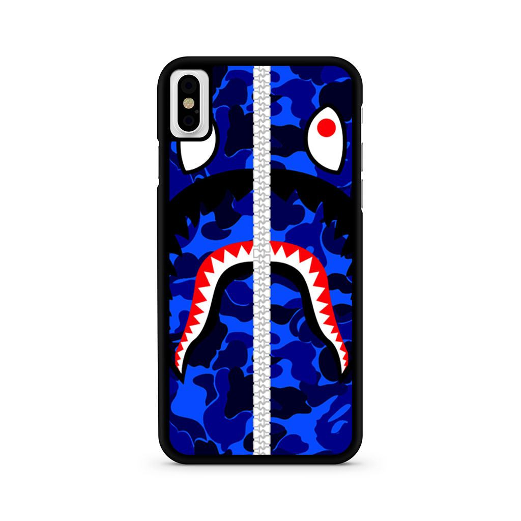 Bape Shark Camo iPhone X case