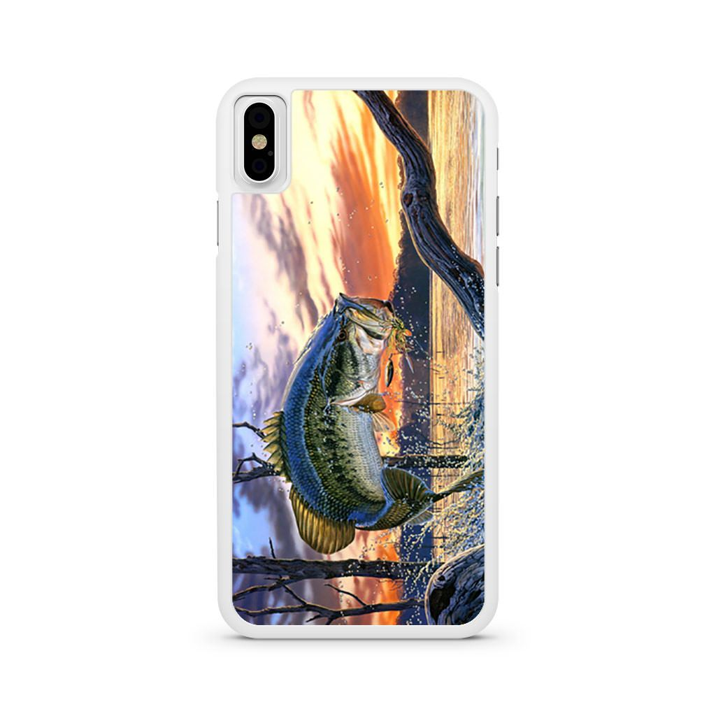 Bass Fishing iPhone X case