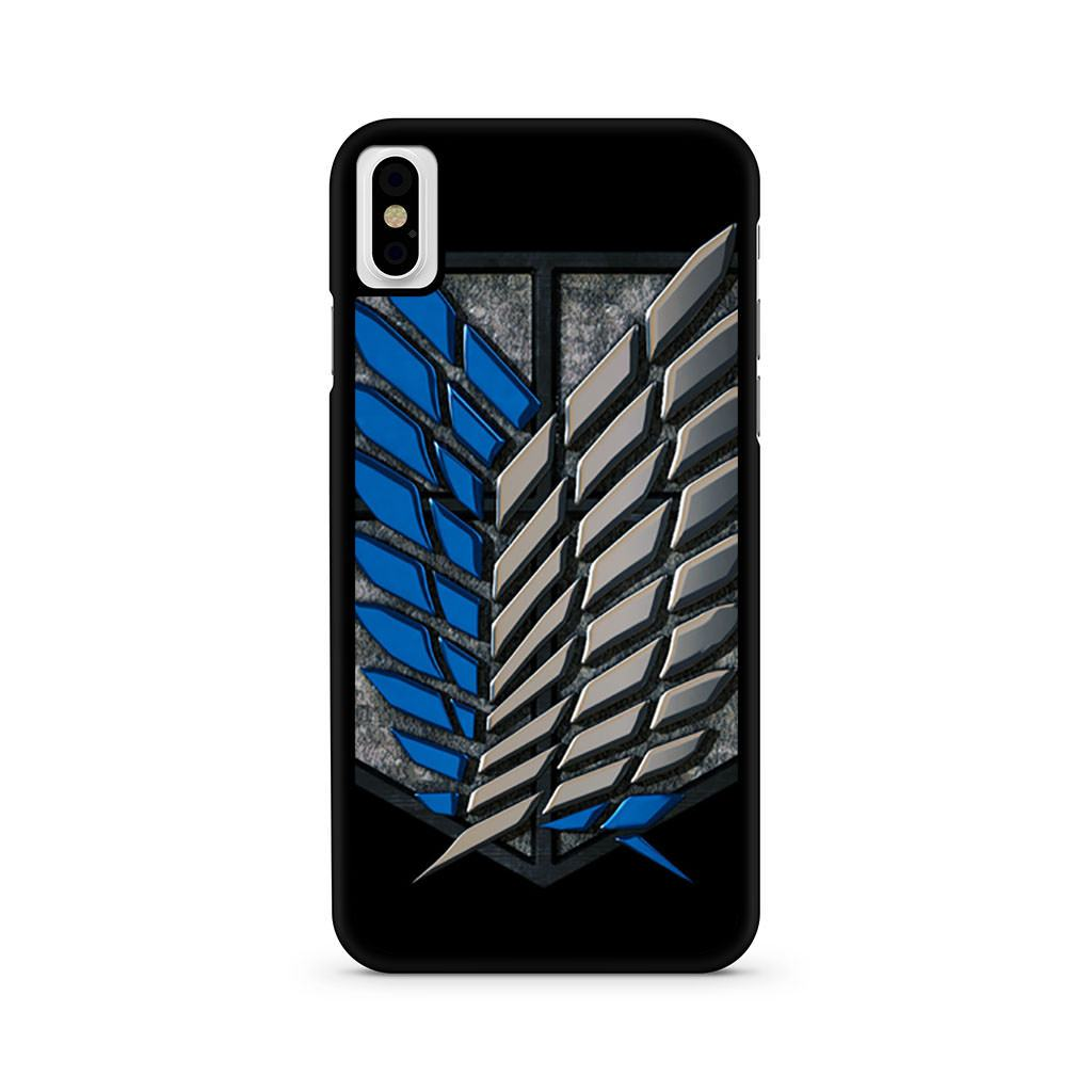 Attack On Titan Survey Corps iPhone X case