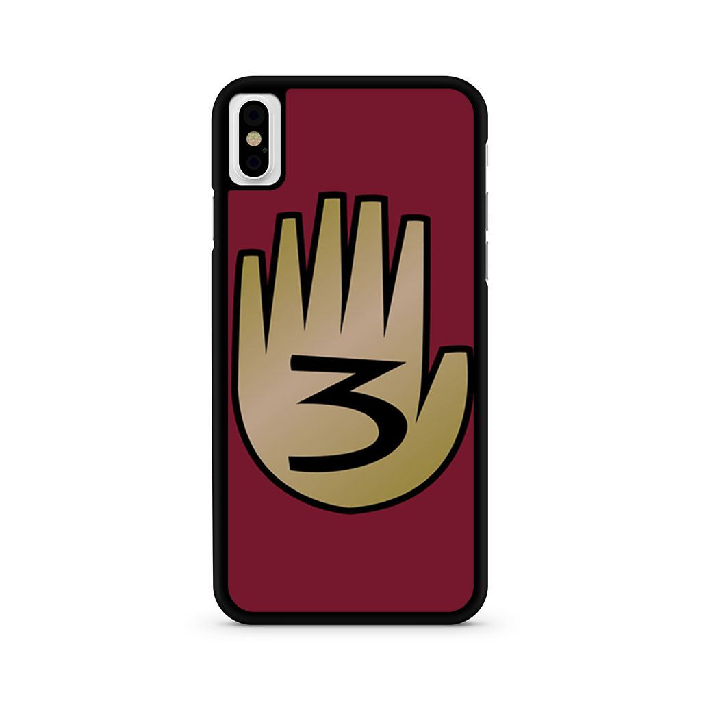 3 Gravity Falls Book 3 Mystery Twins iPhone X case