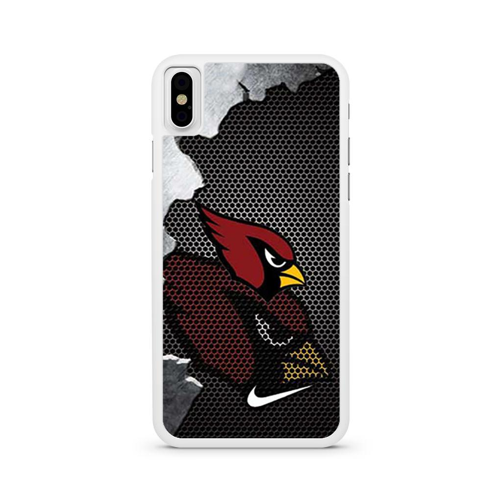 Arizona Cardinals Broken Mesh iPhone X case
