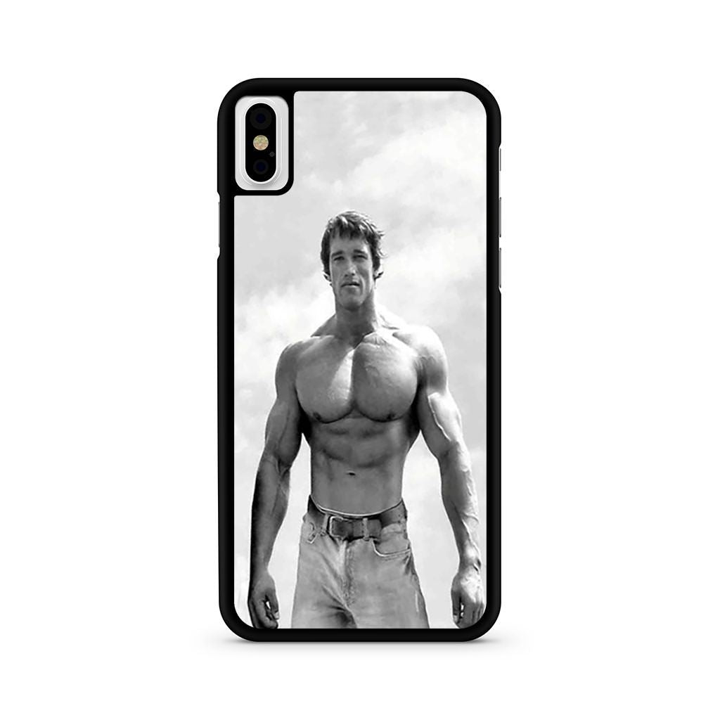 Arnold Schwarzenegger Bodybuilding iPhone X case