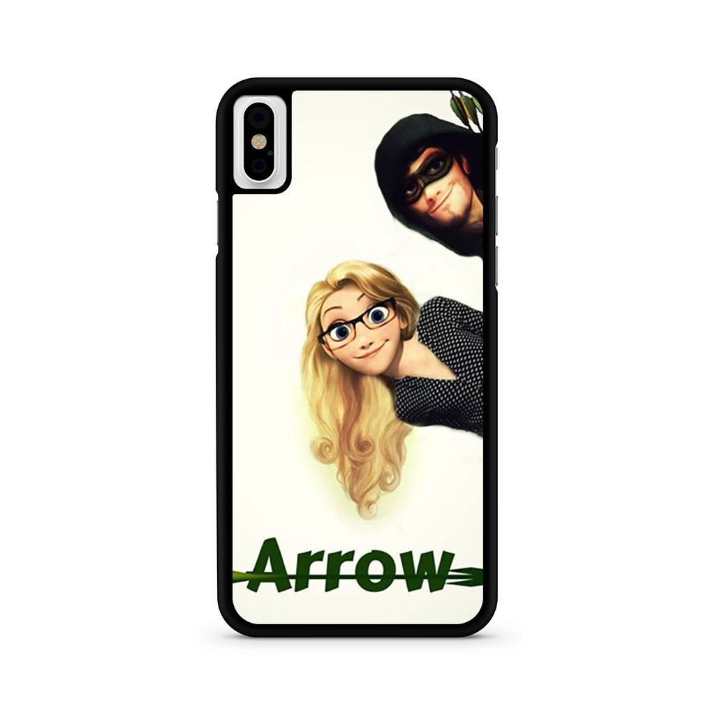Arrow With Flynn And Rapunzeley iPhone X case