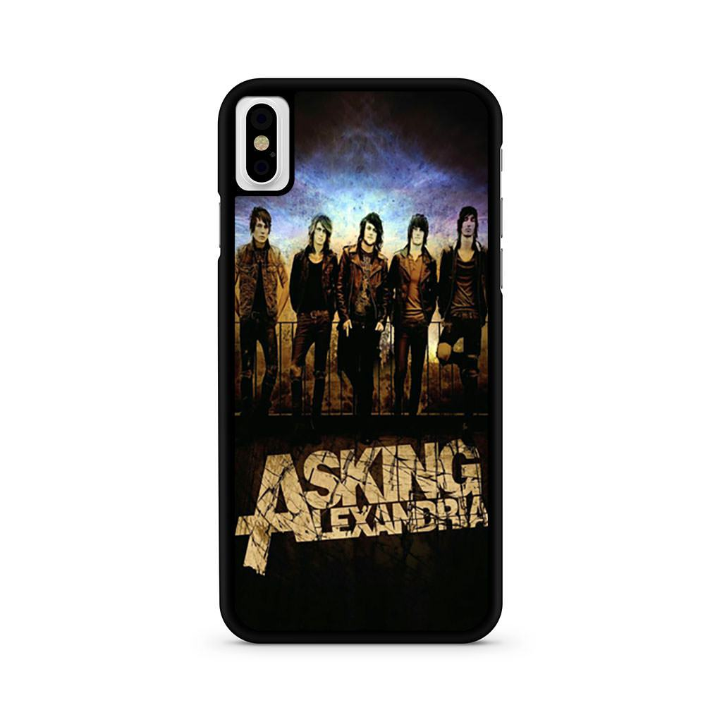 Asking Alexandria iPhone X case