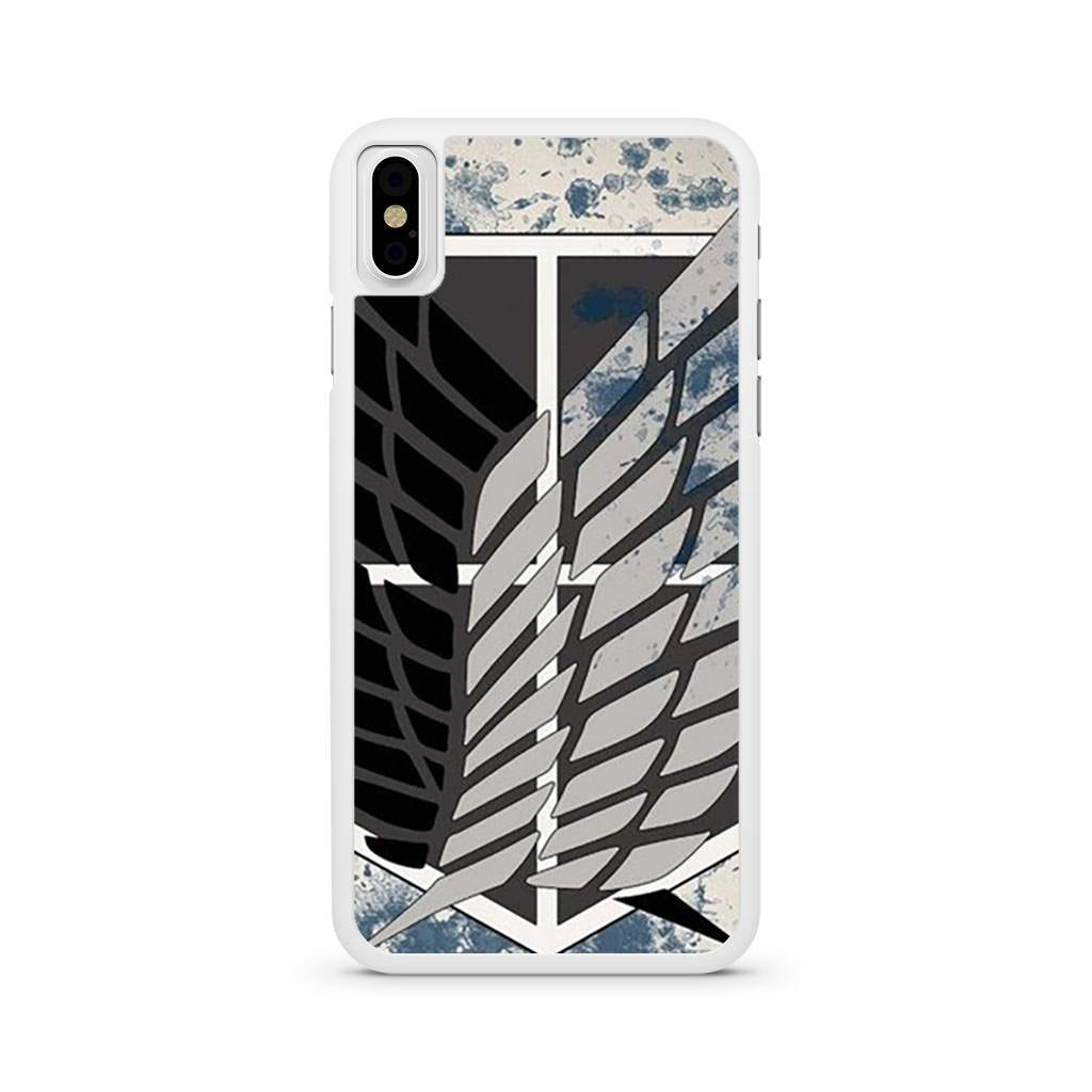 Attack On Titan The Survey Corps iPhone X case