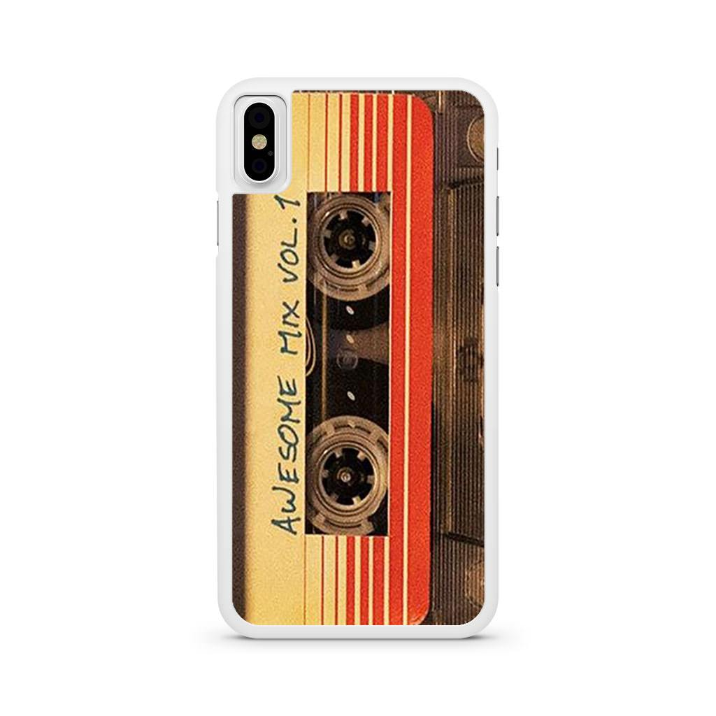 Awesome Mix Vol.1 Guardians Of The Galaxy iPhone X case