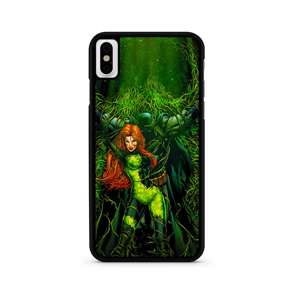 Batman And Poison Ivy iPhone X case