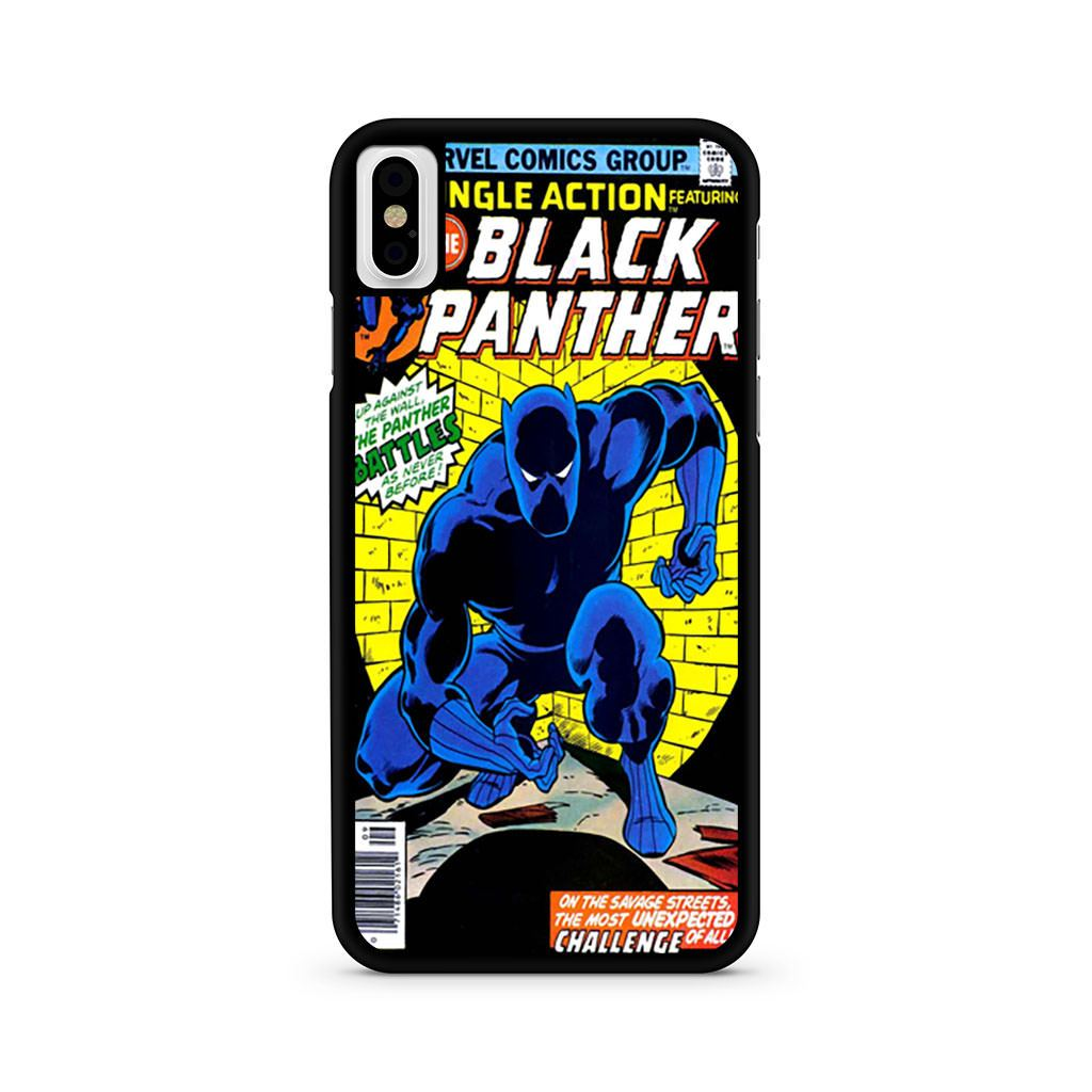 huge selection of 5f939 68456 Jungle Action Black Panther iPhone X case – minimerch