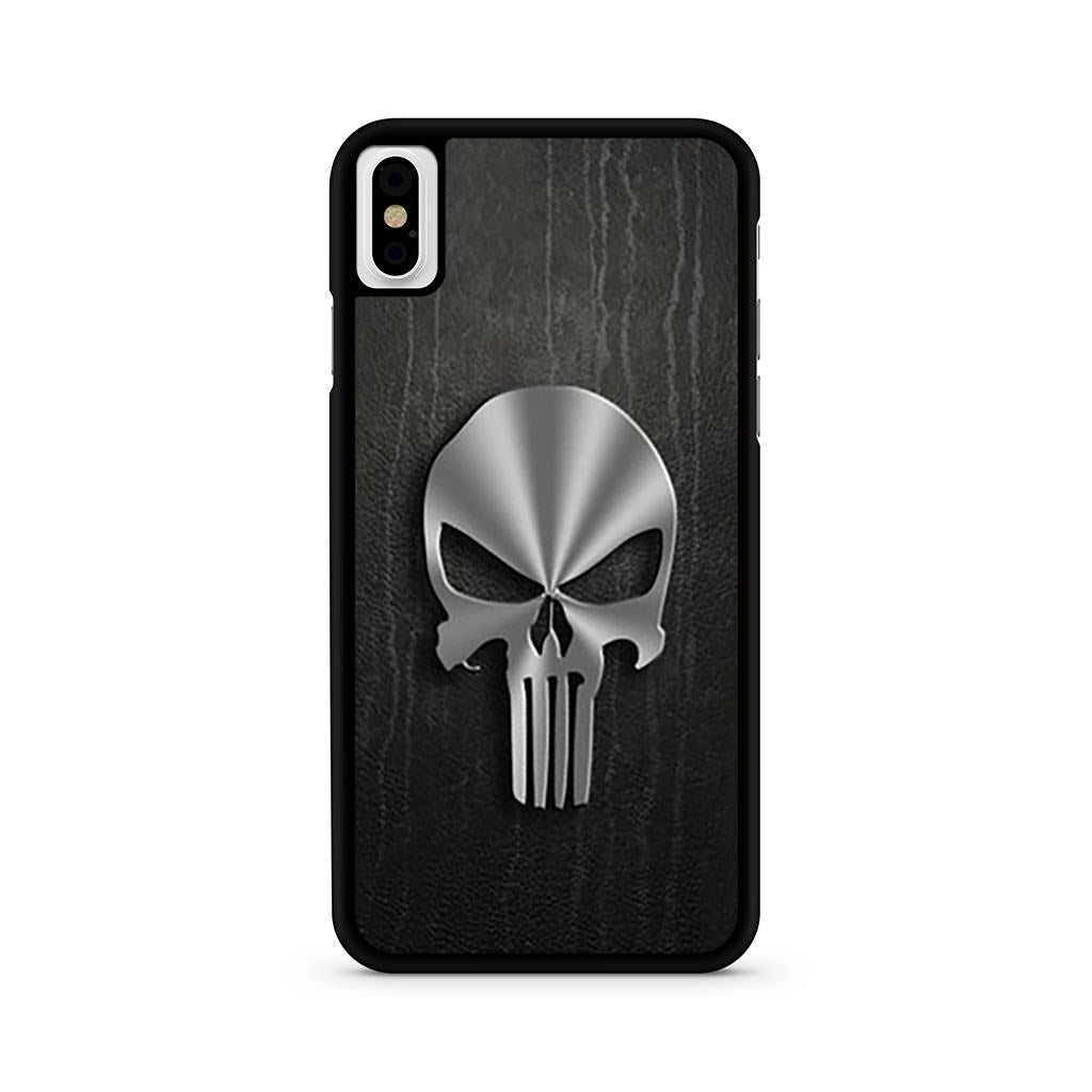 Punisher Metal Logo iPhone X case