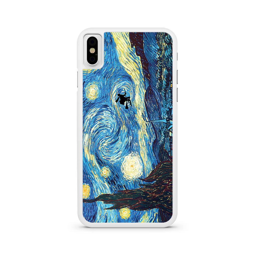 Van Gogh Harry Potter Starry Night iPhone X case