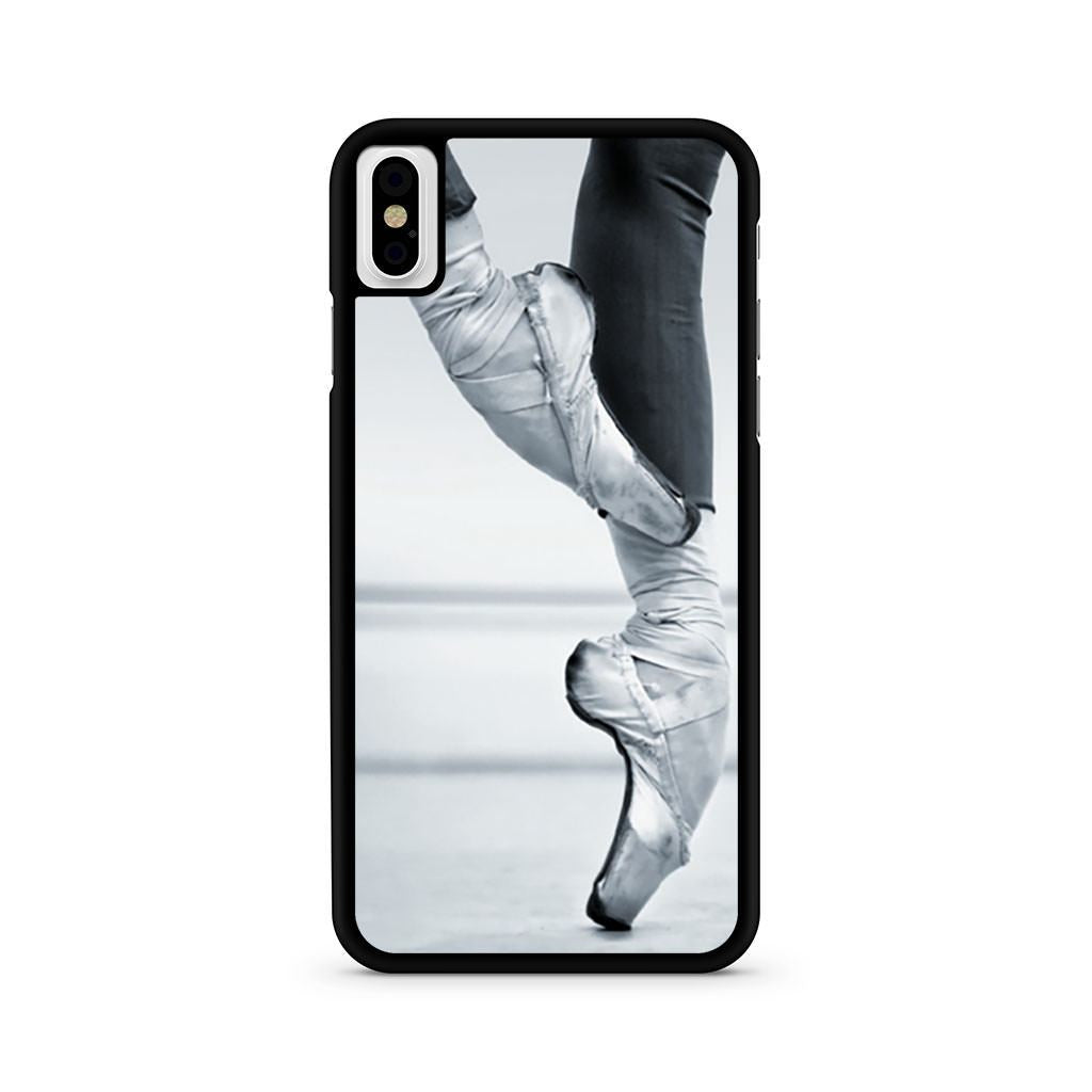 Ballet Dancer Pointe Shoes iPhone X case