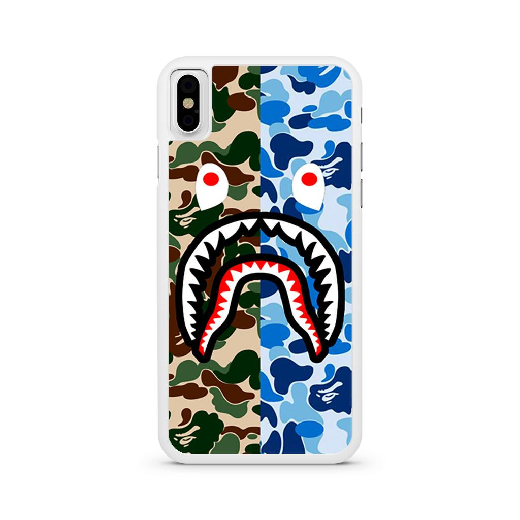 Bape Shark iPhone X case