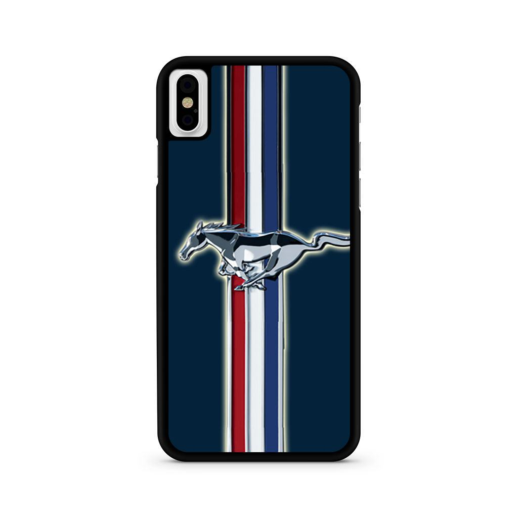 Ford Mustang Logo iPhone X case
