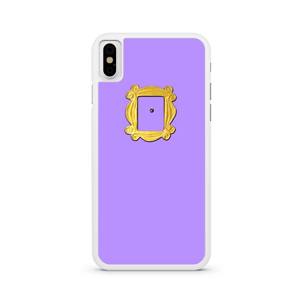 Friends Door Peephole iPhone X case