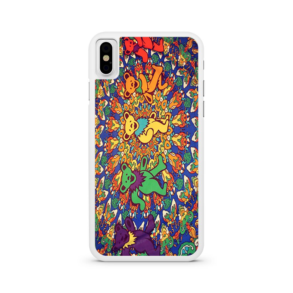 Grateful Dead Psychedelic Bears Tapestry iPhone X case