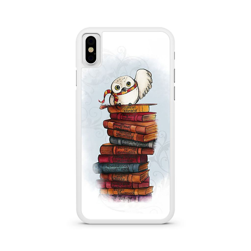 Harry Potter Hedwig Books iPhone X case