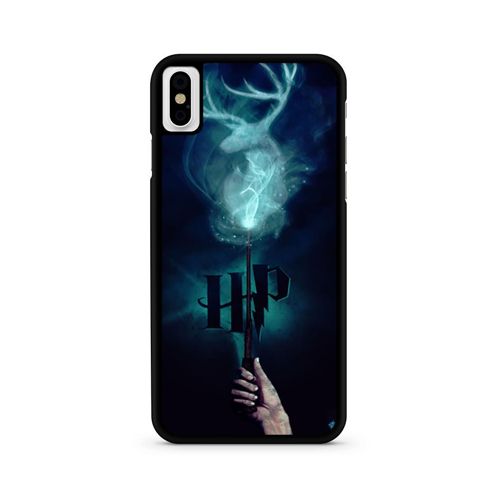 Harry Potter Stag Patronus iPhone X case