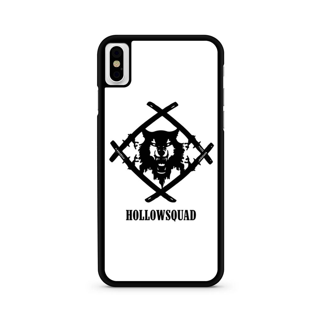 Hollow Squad Xavier Wulf iPhone X case