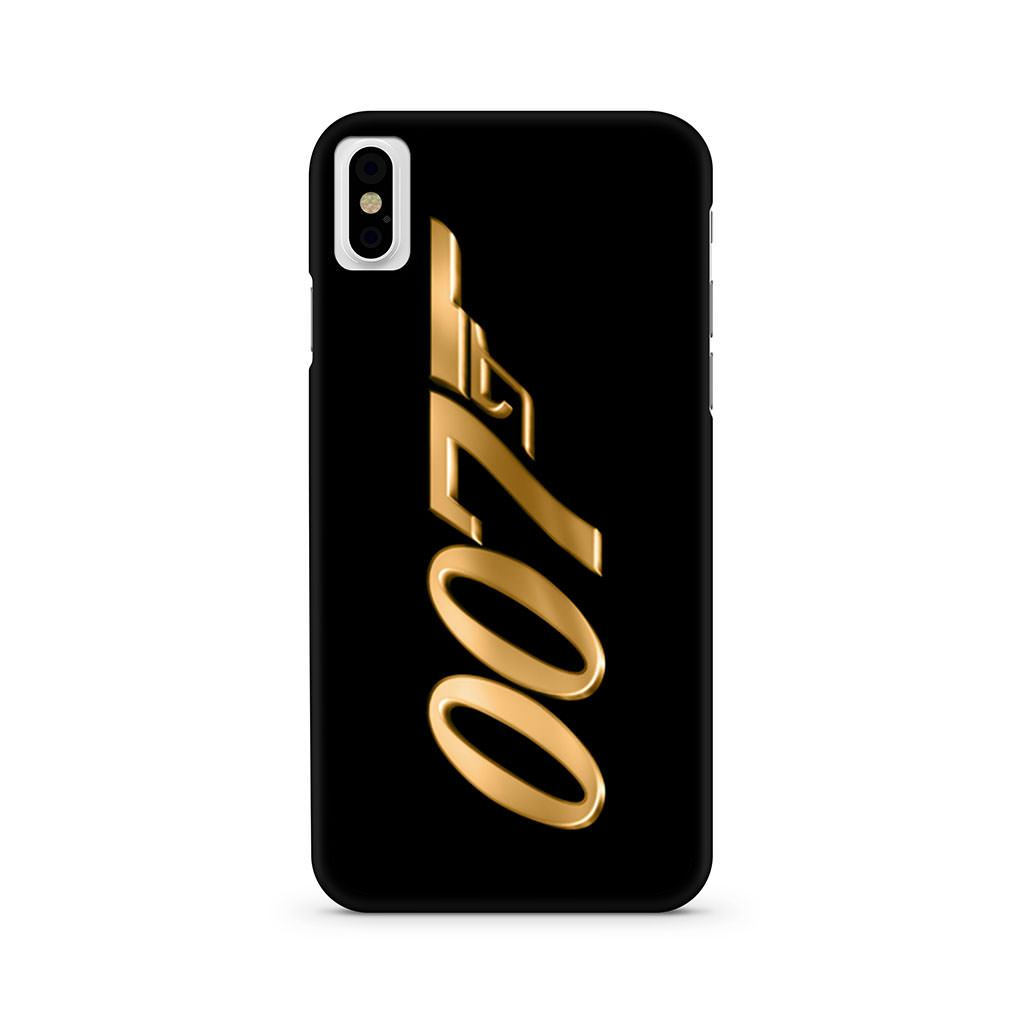 James Bond 007 Gold iPhone X case