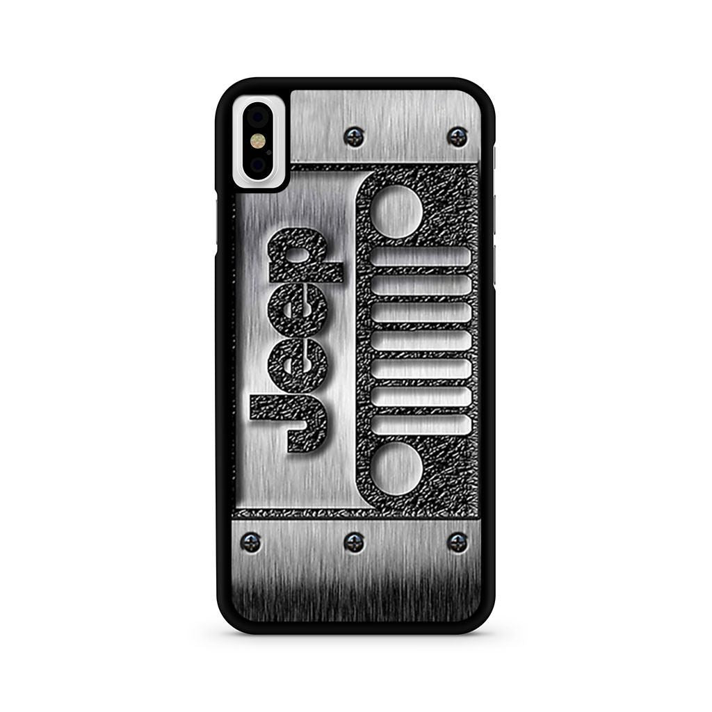 Steampunk Classic Jeep Wrangler Logo iPhone X case