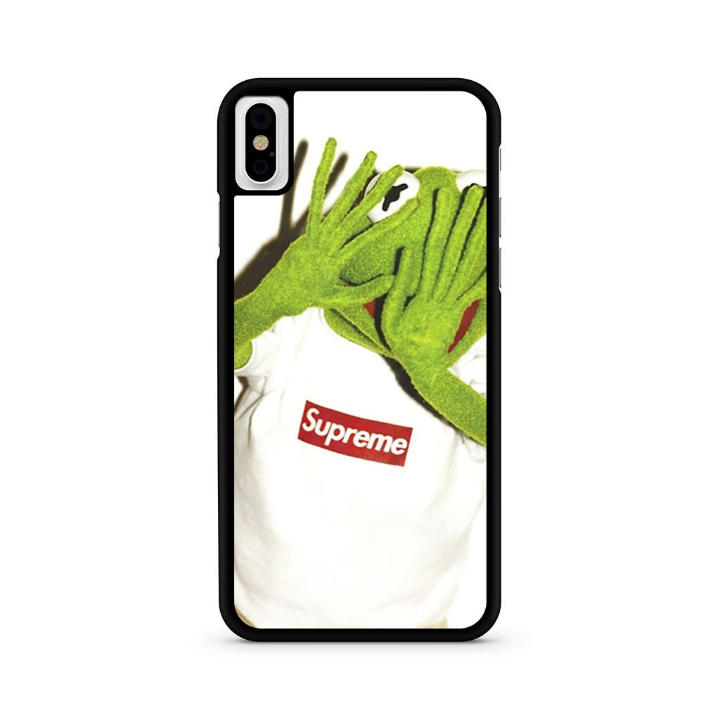 Kermit Supreme iPhone X case