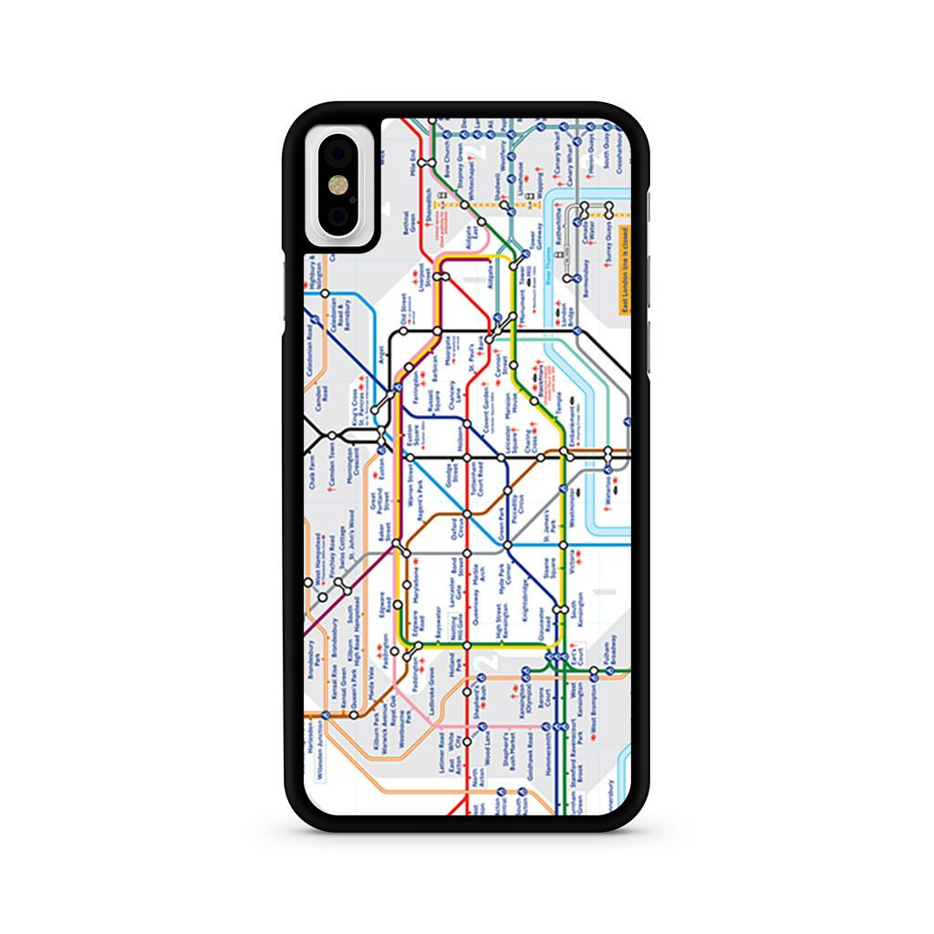 London Tube Map iPhone X case