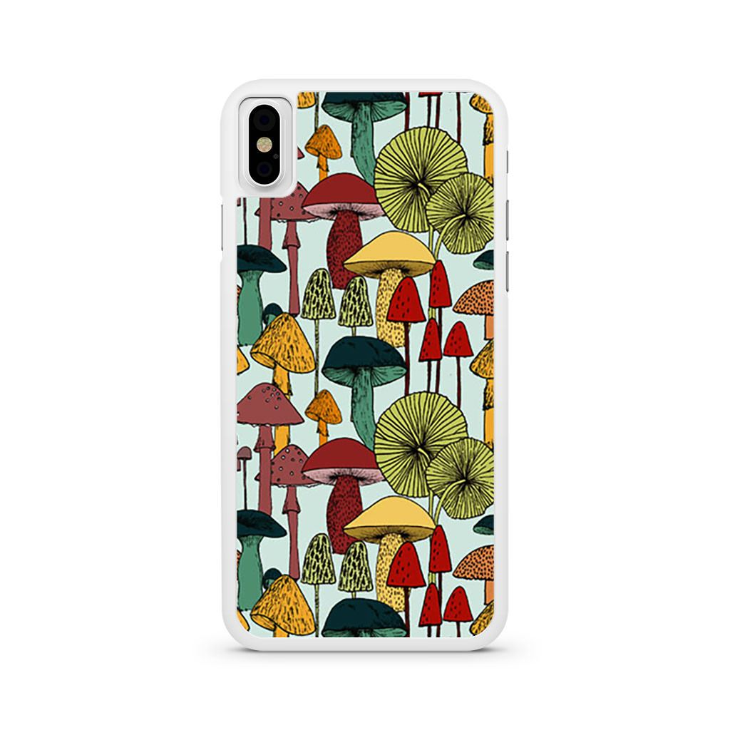 Mushroom Patterns iPhone X case