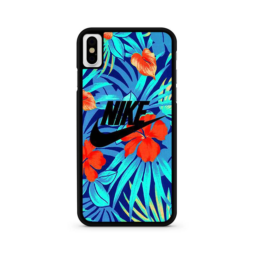 Nike Logo Flower iPhone X case