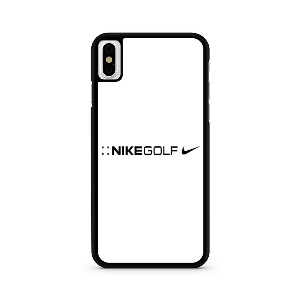 Nike Golf White Logo iPhone X case