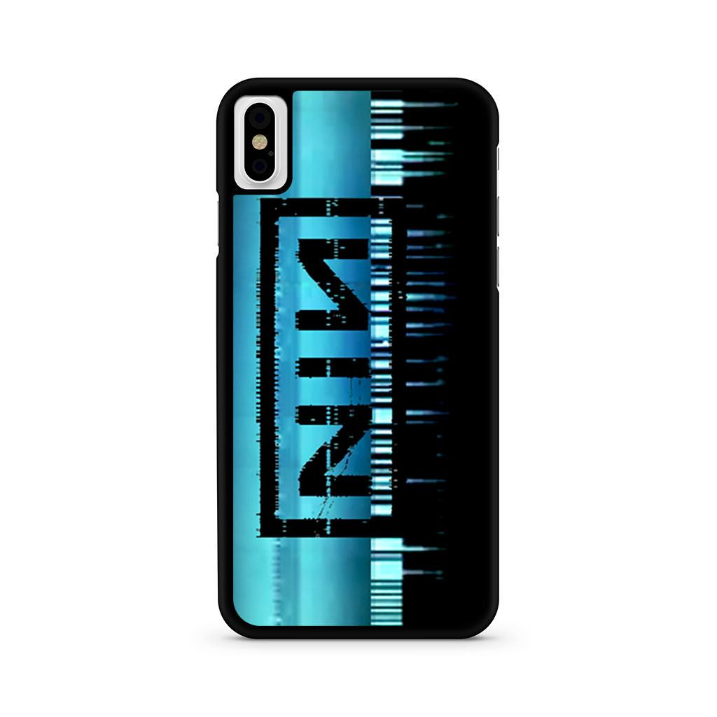 Nine Inch Nails Logo iPhone X case