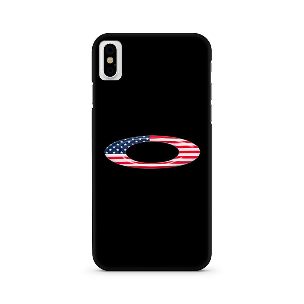 Oakley American Flag Logo iPhone X case