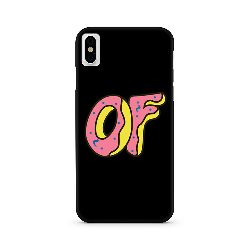 Obey Doughnut Odd Future iPhone X case
