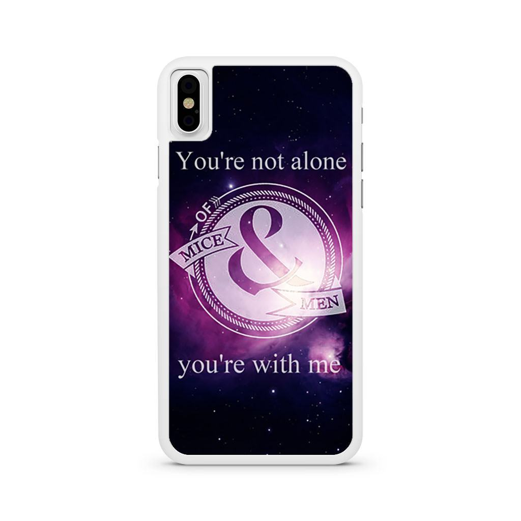 Of Mice And Men Logo iPhone X case