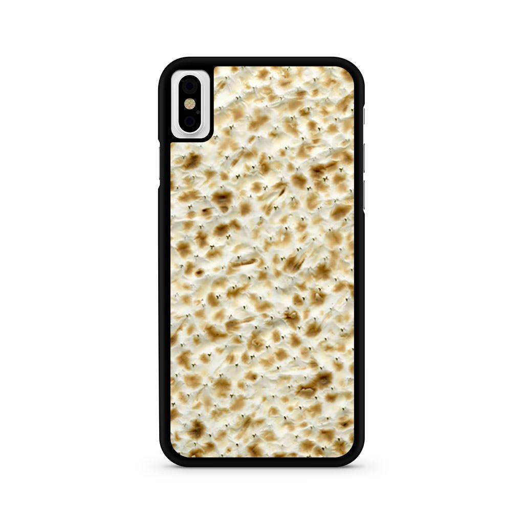 Passover Matzo Matzah iPhone X case