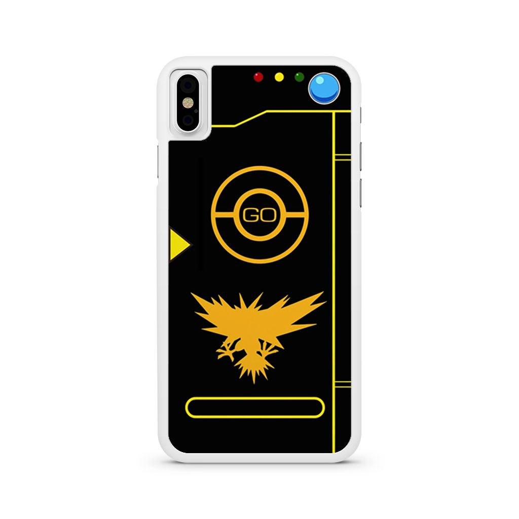 Pokemon Go Instinct Team Black Pokedex iPhone X case