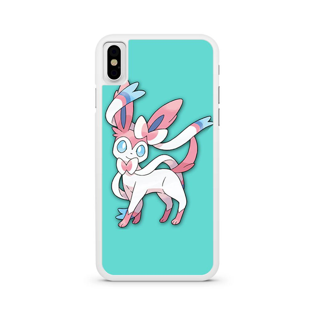 Sylveon Pokemon iPhone X case