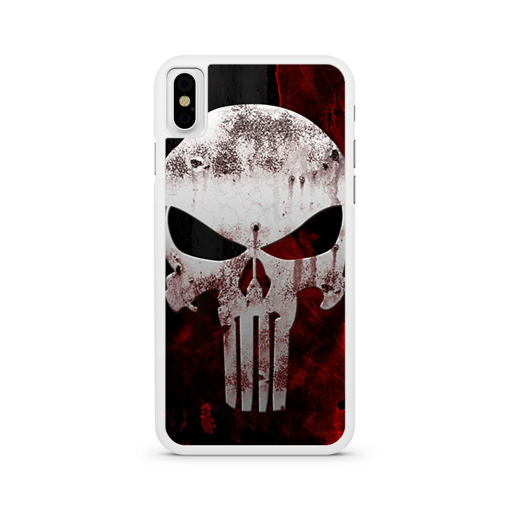Punisher Skull iPhone X case