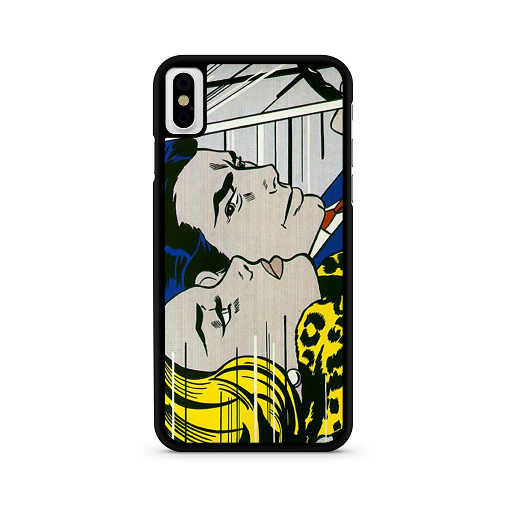 Roy Lichtenstein In The Car Pop Art iPhone X case