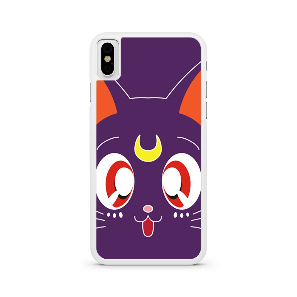 Sailor Moon Luna iPhone X case