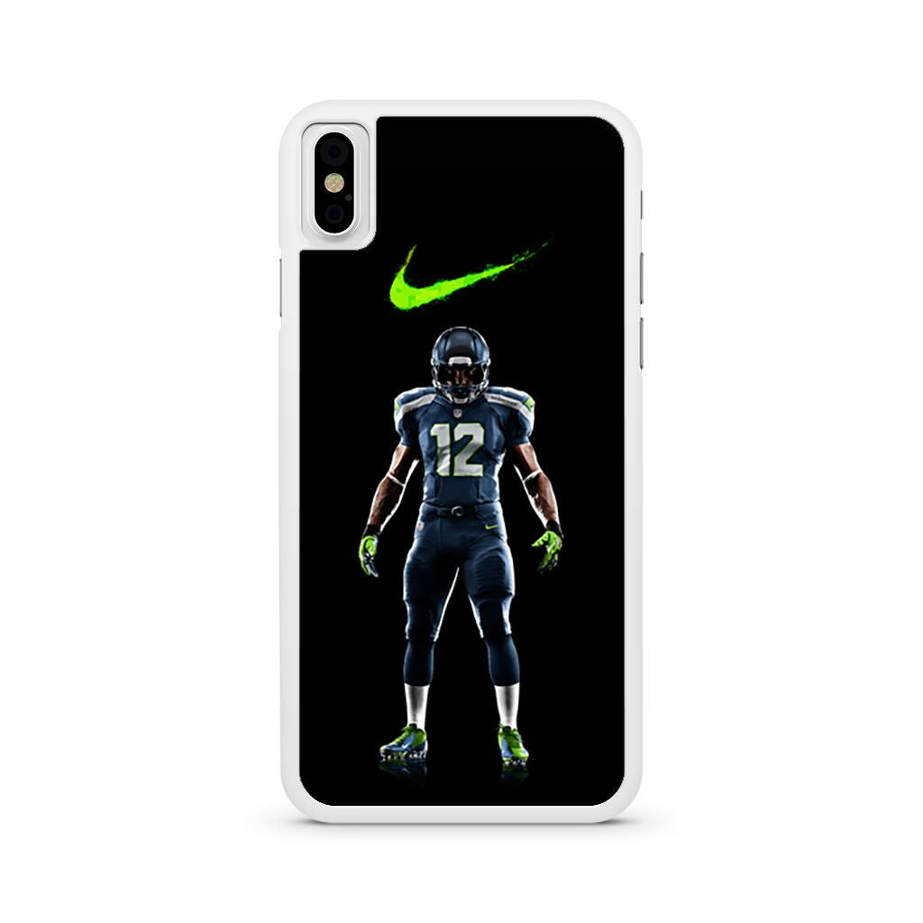 Seattle Seahawks Nike iPhone X case