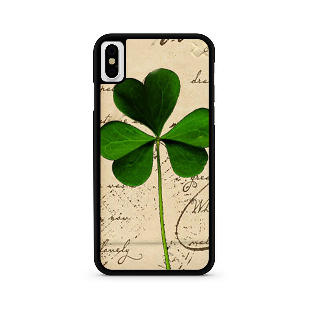 Shamrock iPhone X case
