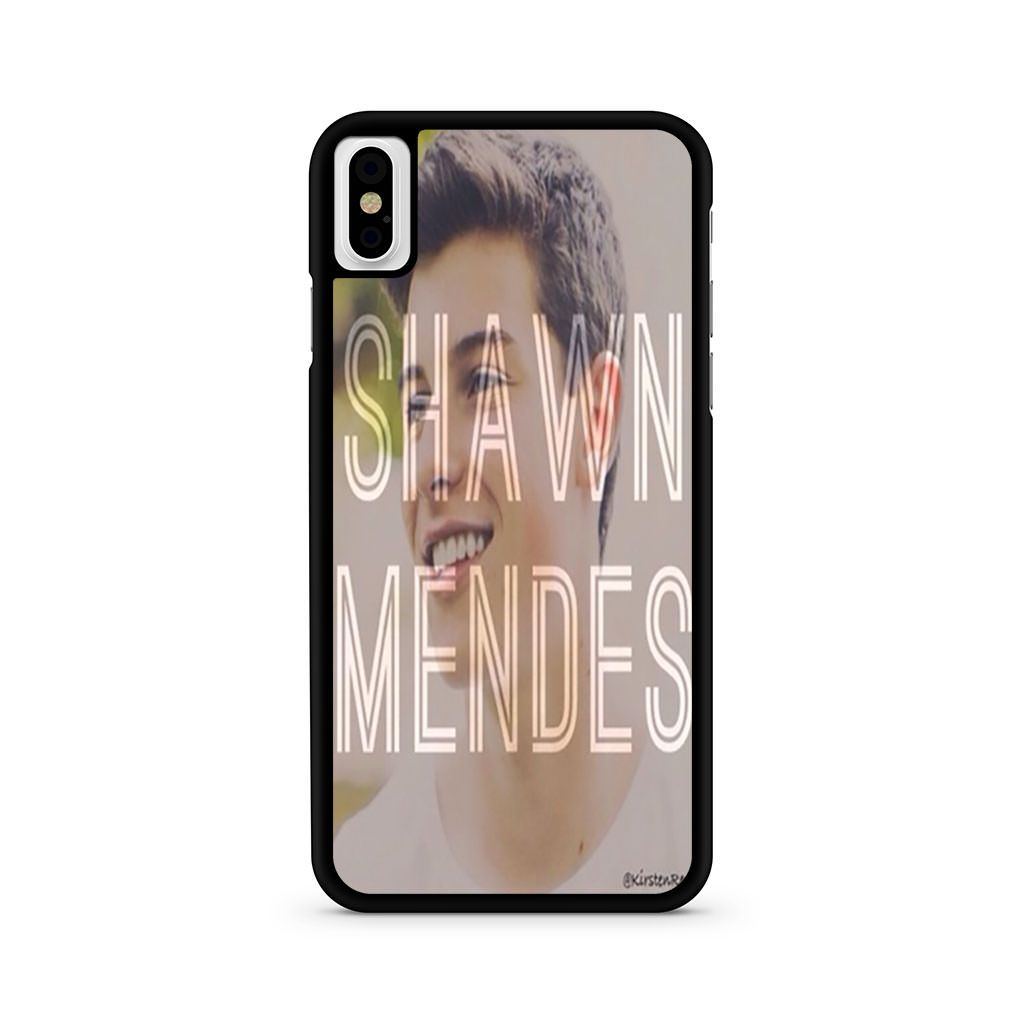 Shawn Mendes MB iPhone X case