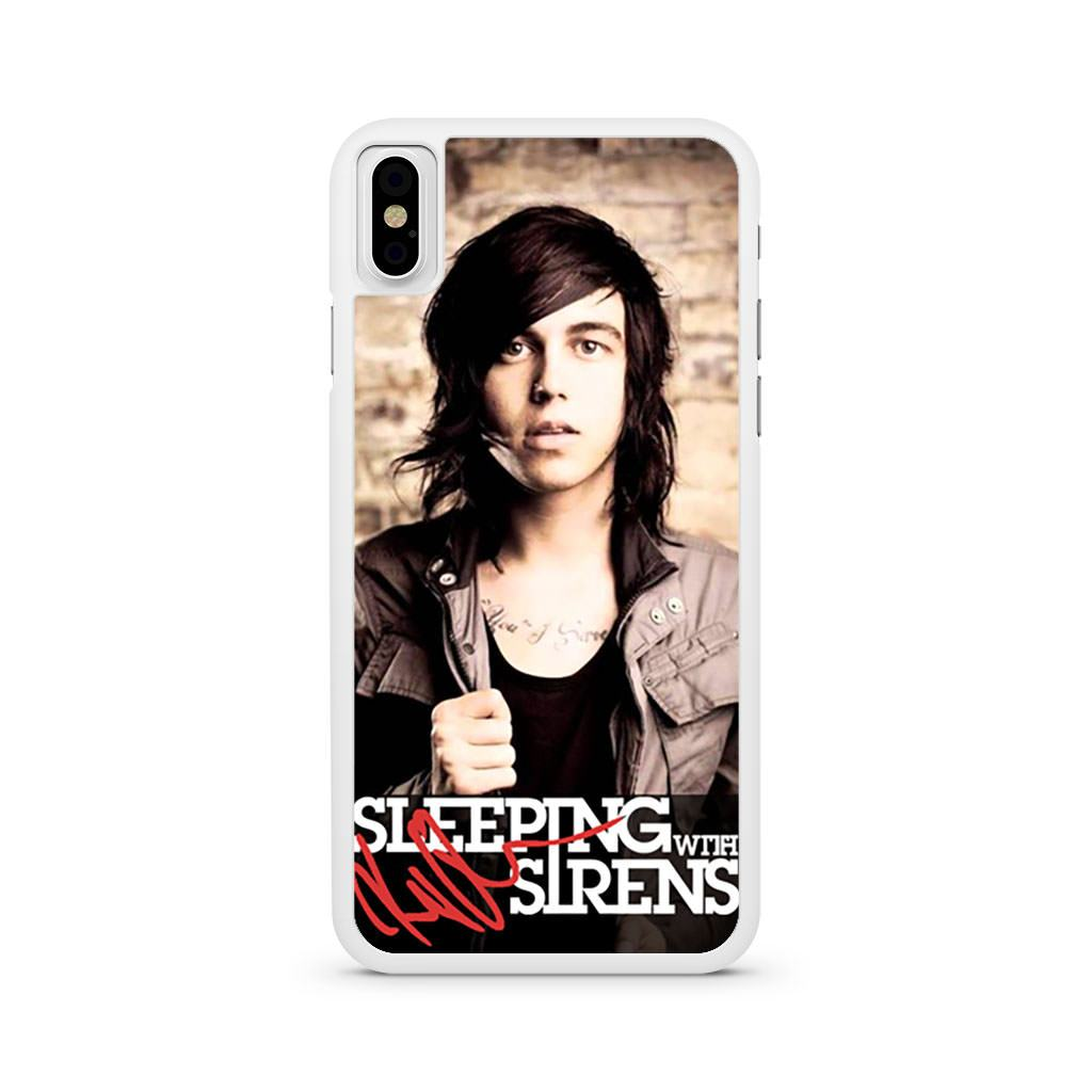 Sleeping With Sirens Kellin Quinn iPhone X case